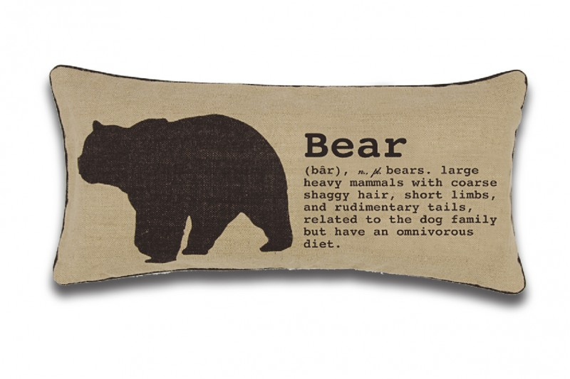 "Lodge Jute - ""Bear"""