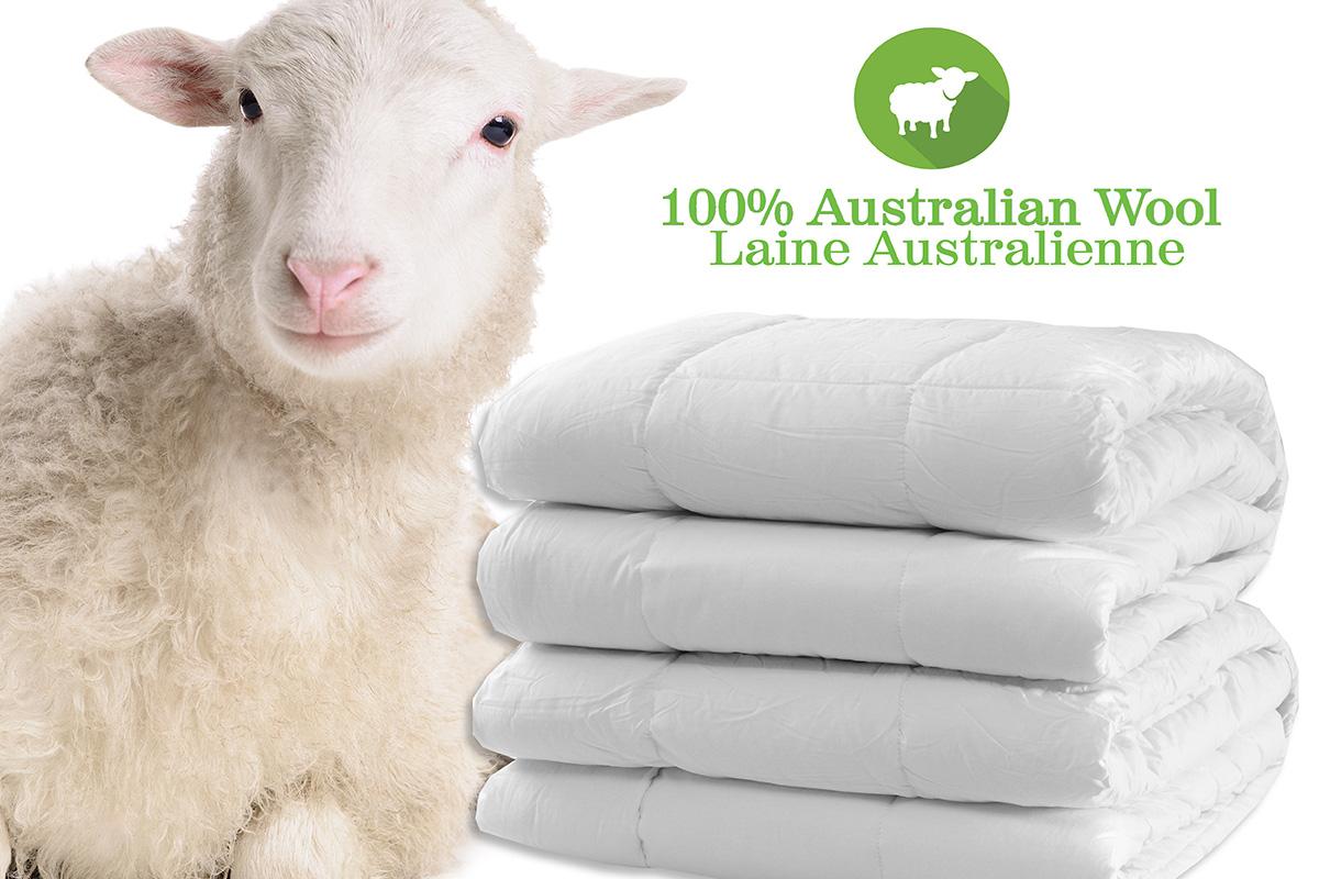 Essentials Du Luxe Australian Wool Duvet